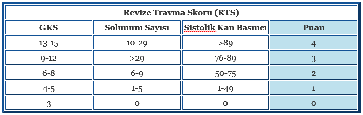 Revize Travma Skoru